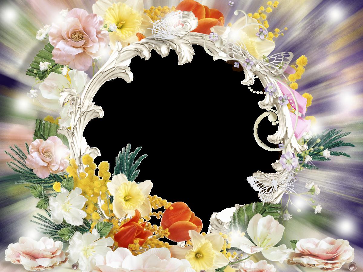 Картинки цветы рамки, обратная сторона открытки