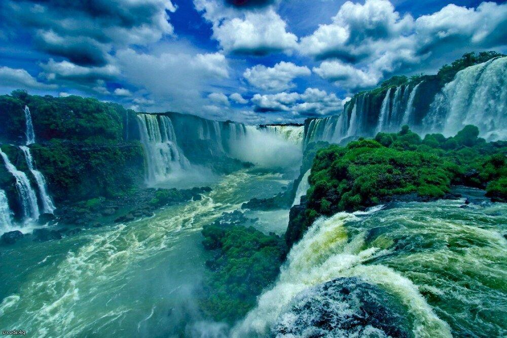 Водопад Игуасу. Бразилия
