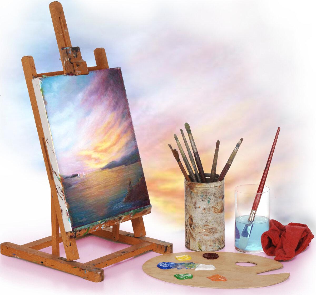 как картинки для художника предметы для рисования этом году