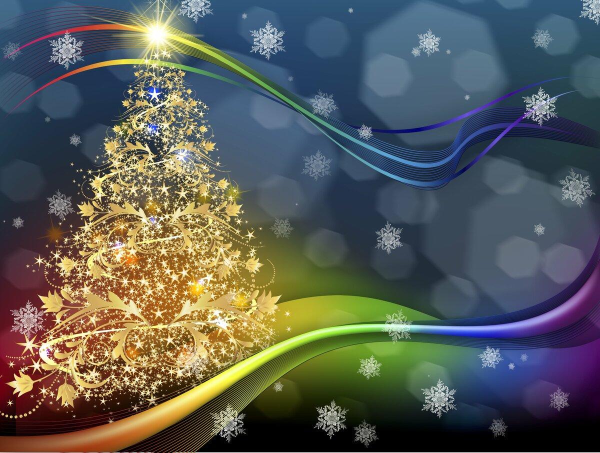 Создать открытка с новым годом