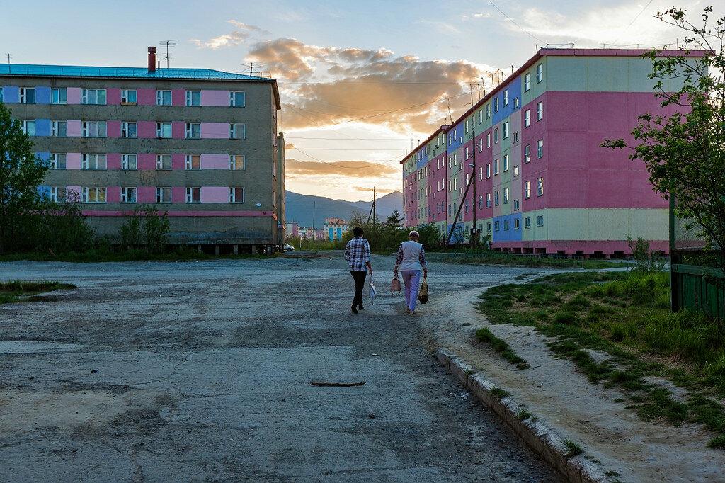 Заброшенные города арктики фото ней