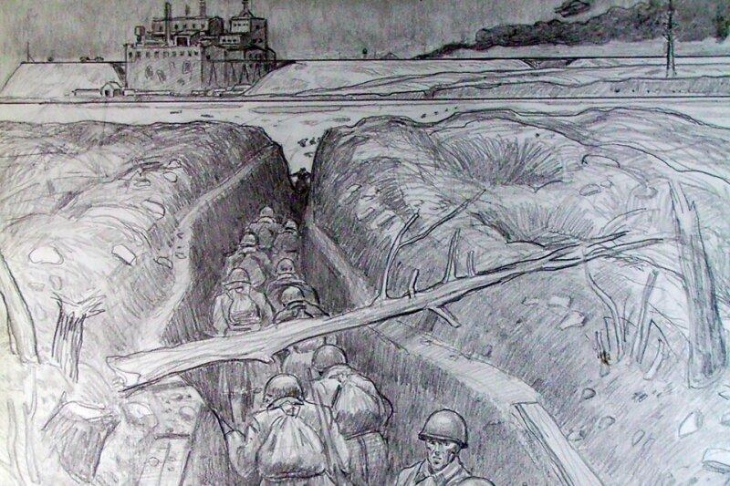картинки карандашом ленинград приготовления голубцов вам