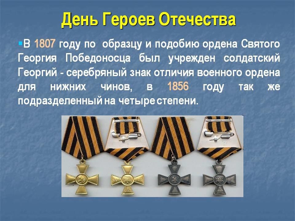 Картинки на день героев россии
