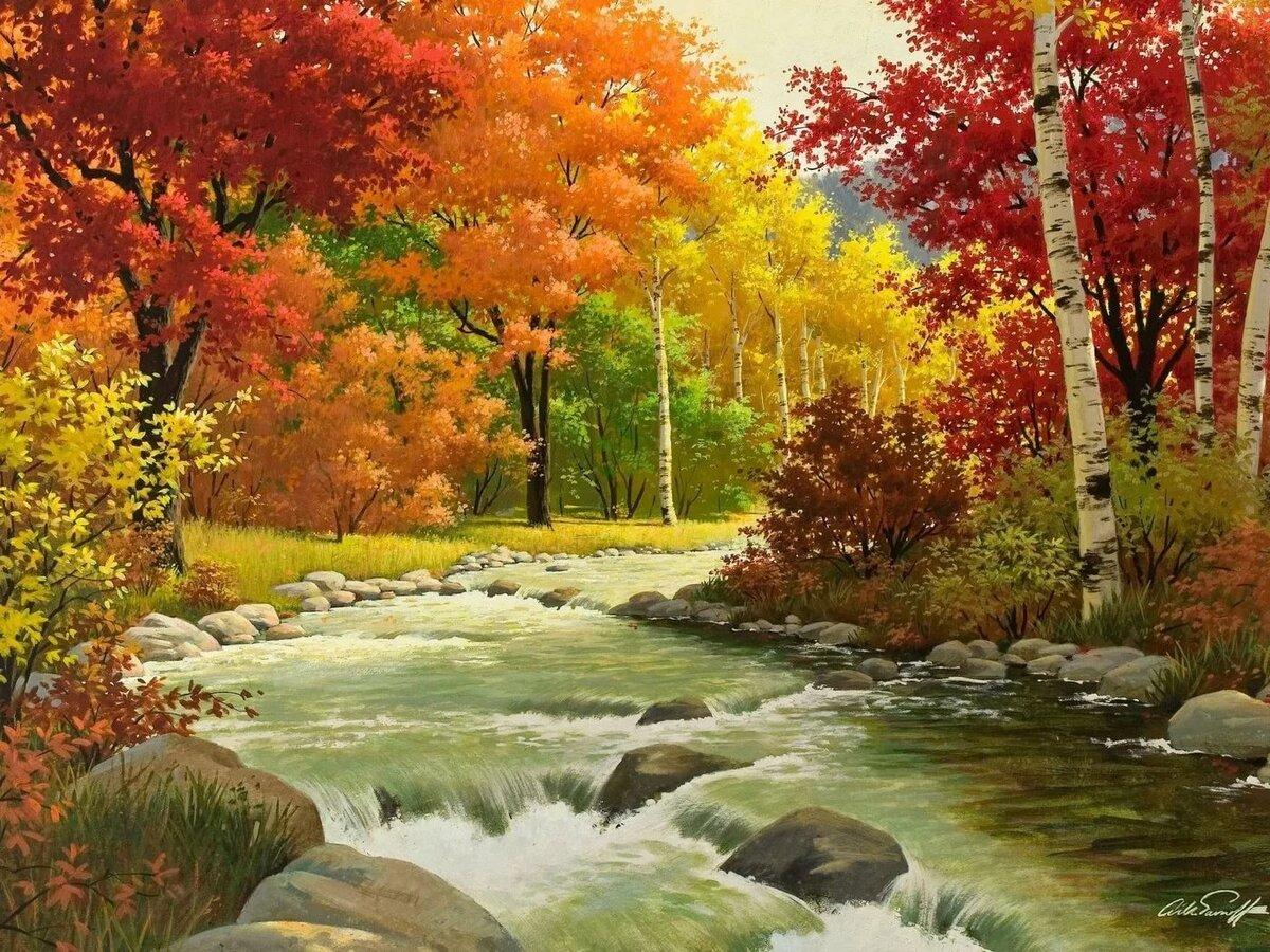 Картинки про природу осень и зиму нравятся