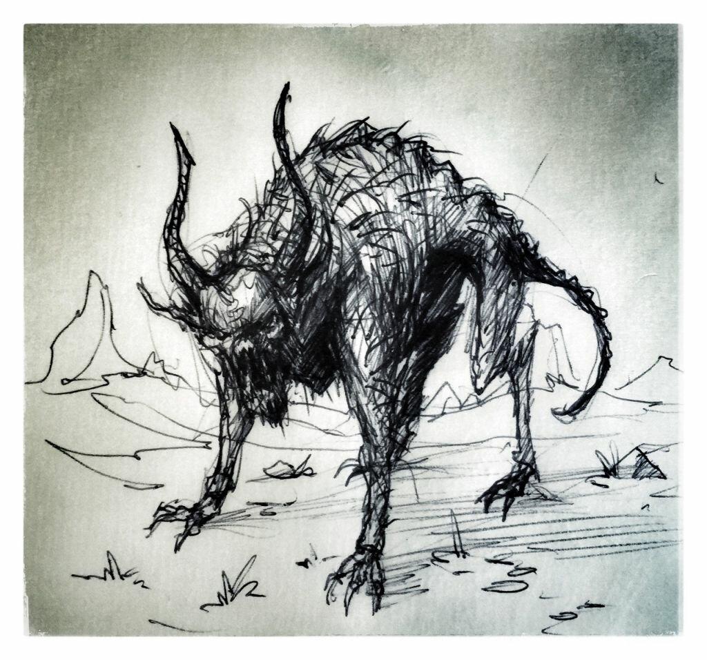 картинки про чупакабру