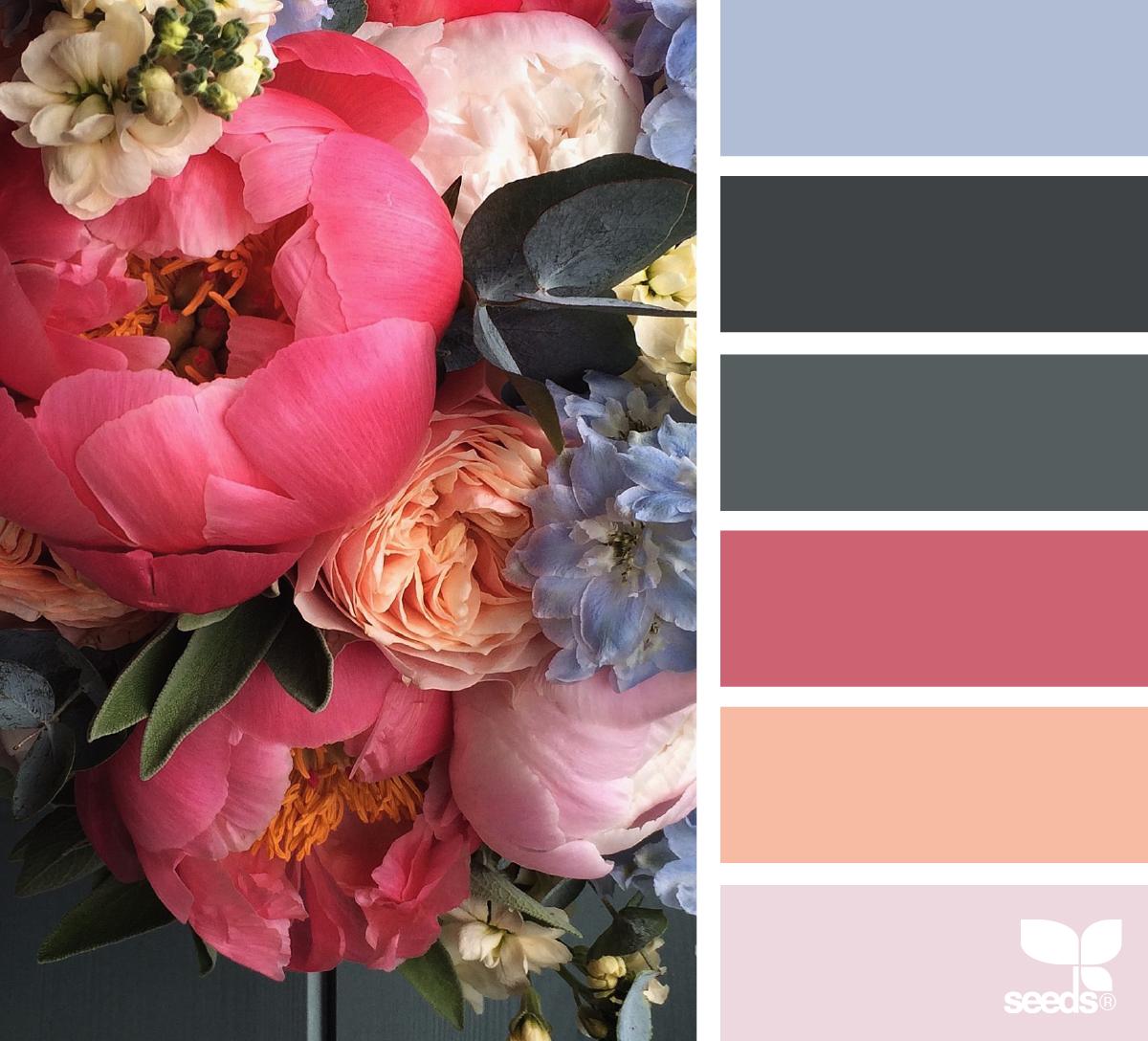 Сочетания цветов на картинке