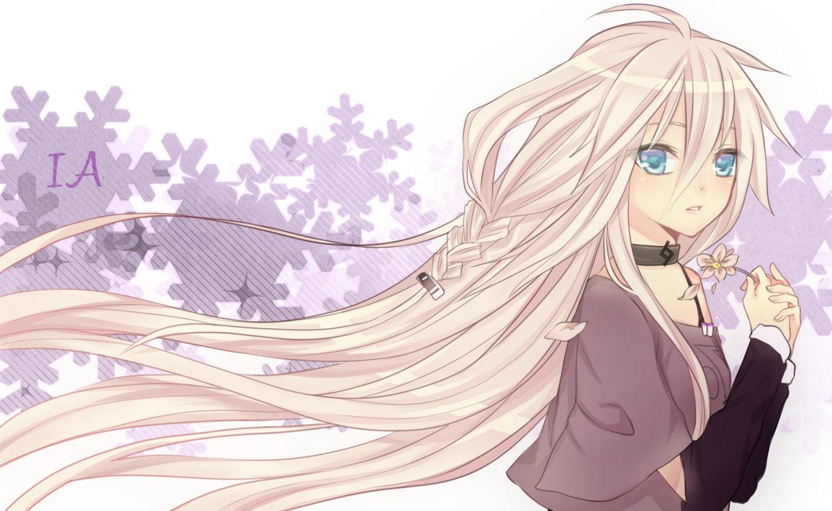 Светлые картинки из аниме