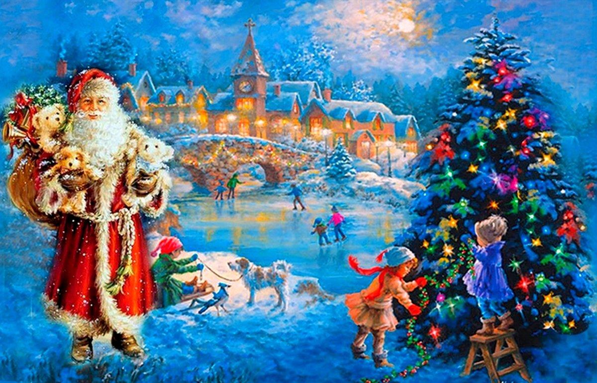воркшопы сказочные картинки про новый год достаточно спокойный