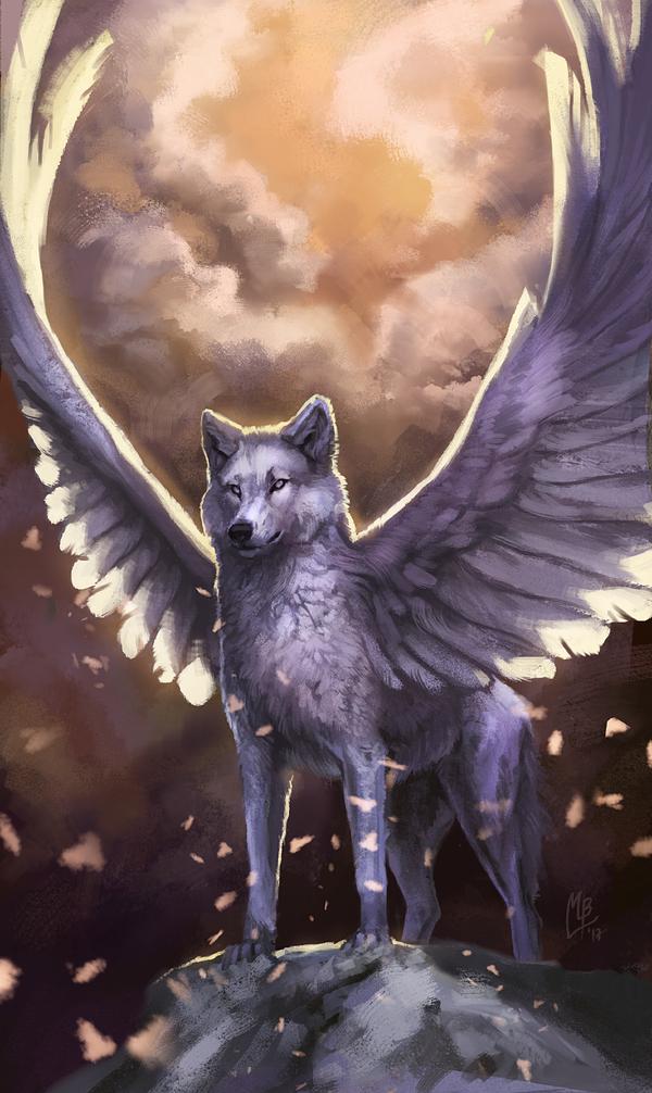 сложенном фото человека волка с крыльями расскажем, как