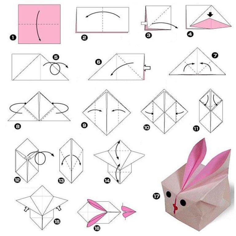 Пошаговая инструкция в картинках оригами