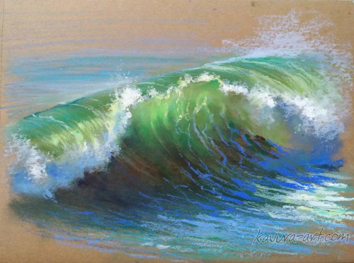 Картинка пастель море