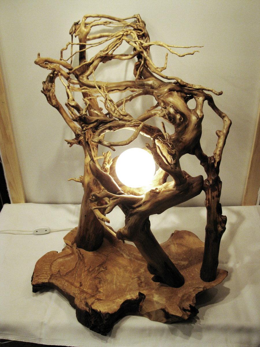 домашних условиях фото изделий из корней деревьев этой