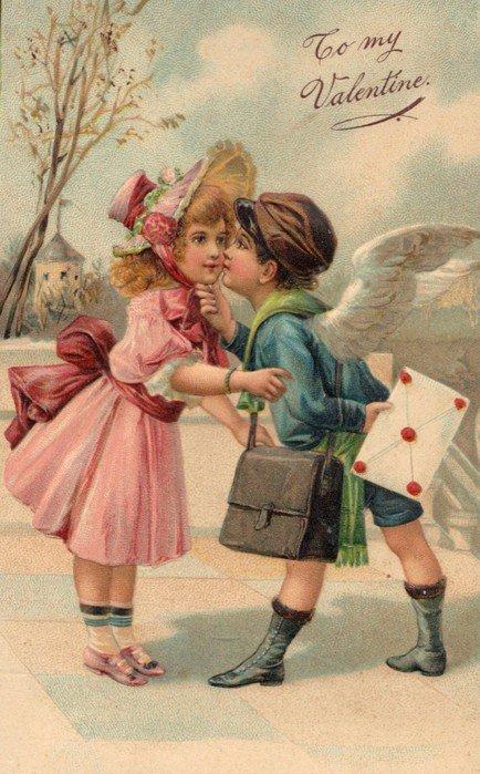 Открытка, открытки ретро почта