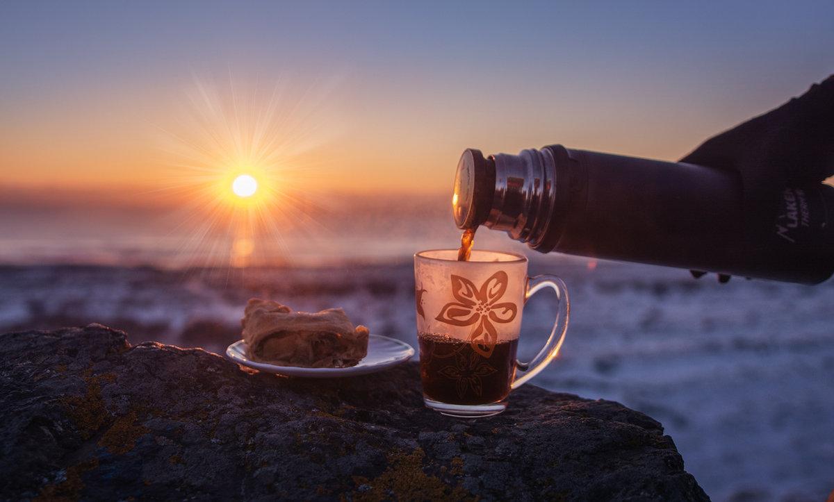Доброе утро, картинки кофе утром на рассвете