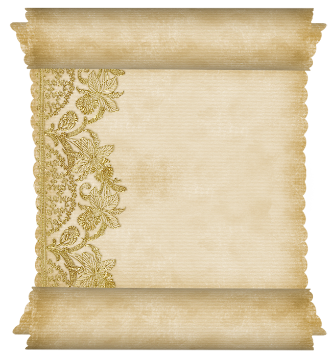 Дней дня, открытка пергамент