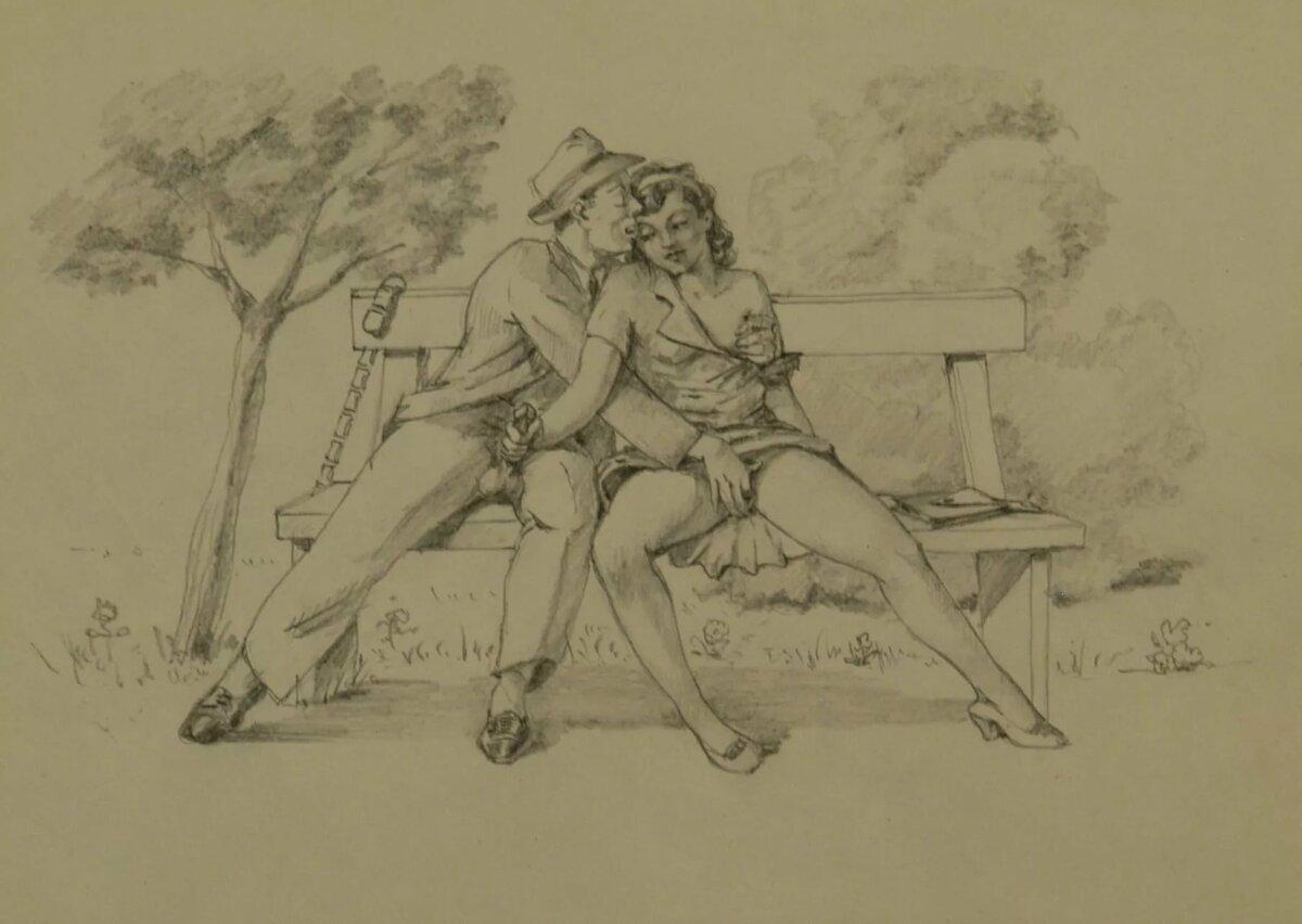 Erotica period art drawings, sexy furry boobs