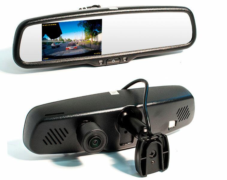 Car DVR mirror - видеорегистратор в Хасавюрте