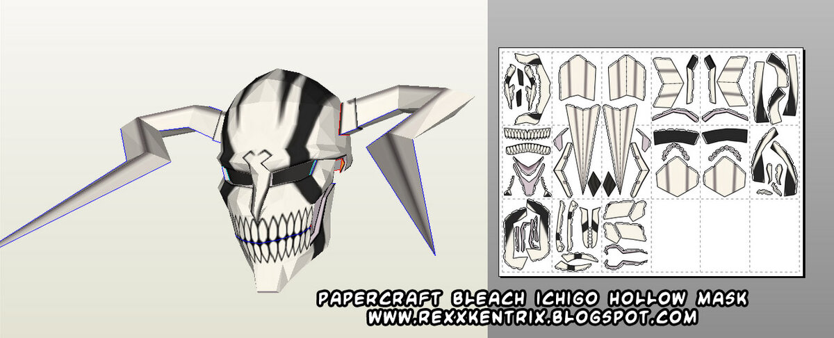 Matchless phrase, bleach hollow mask papercraft advise