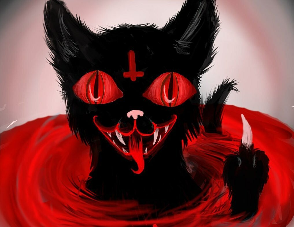 Картинки прикольный демон, рабочего