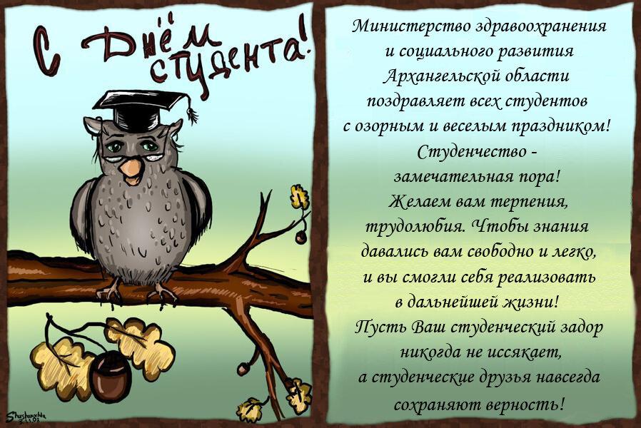 Днем благовещения, с днем студента картинки с совой