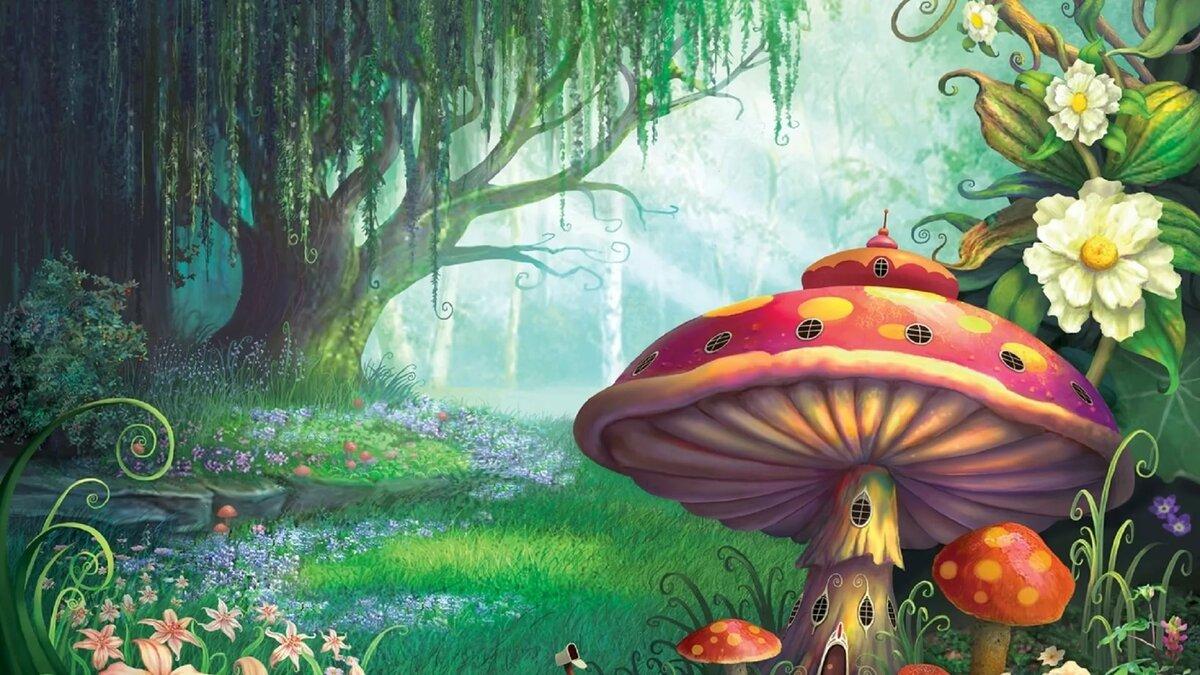 Сказочный лес открытка, храни тебя