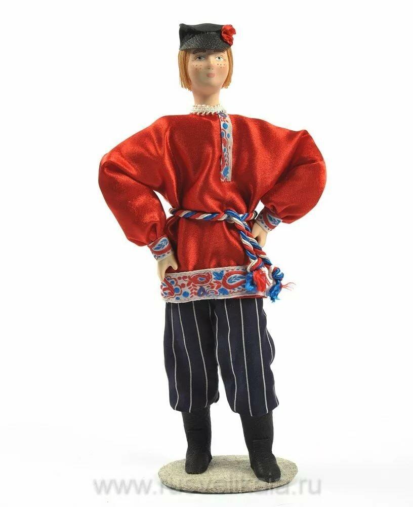Русский национальный мужской костюм картинки годы жизни