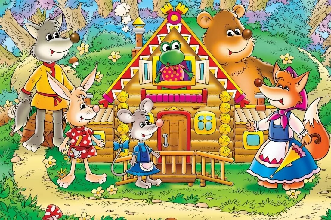 Картинки, сказка с картинки для детей