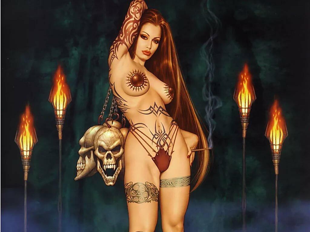 порно эротика все женщины ведьмы всегда