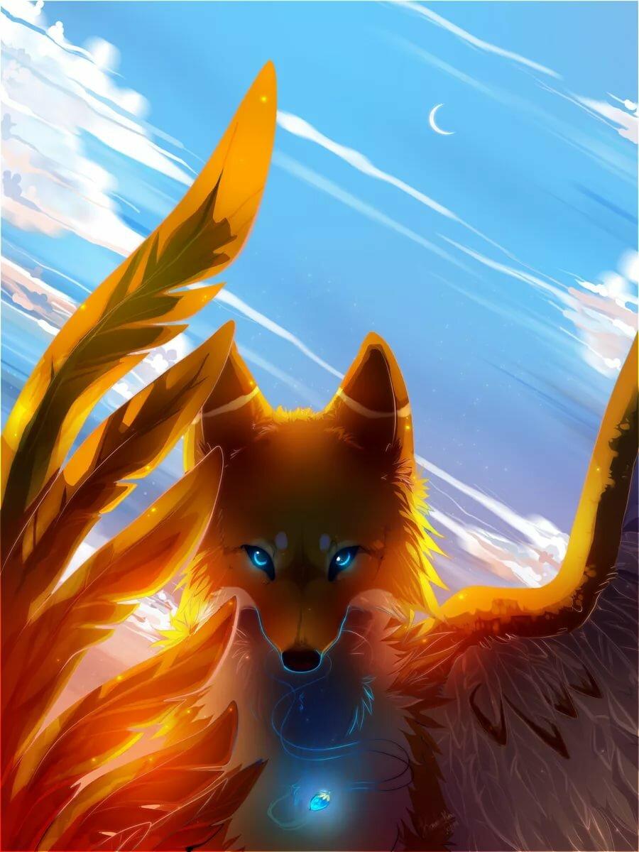картинки огненная лиса завершения
