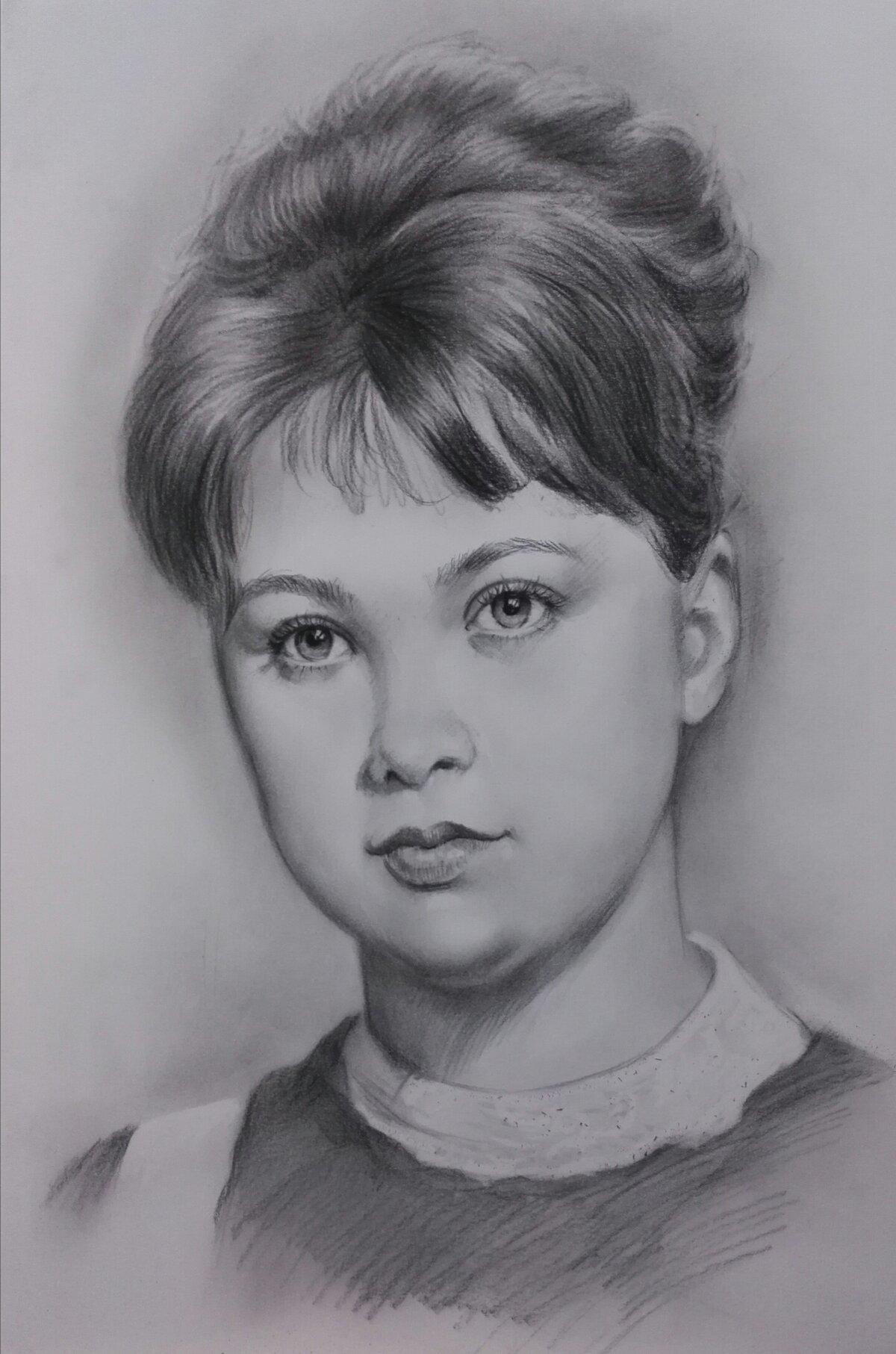 карандашные портреты картинки переносица ребенка, лоб