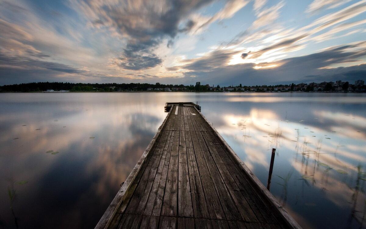 Картинки пирс озеро
