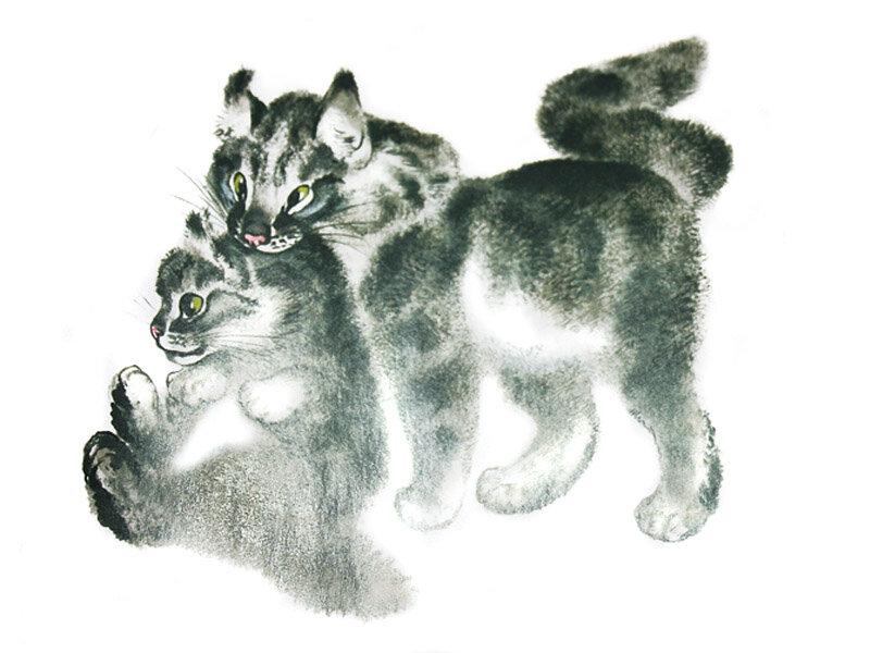 Приколы, чарушин картинки к рассказам о животных