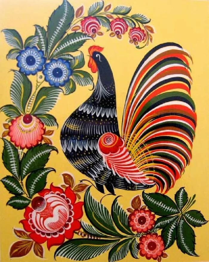 Открытки птицы россии изобразительное искусство