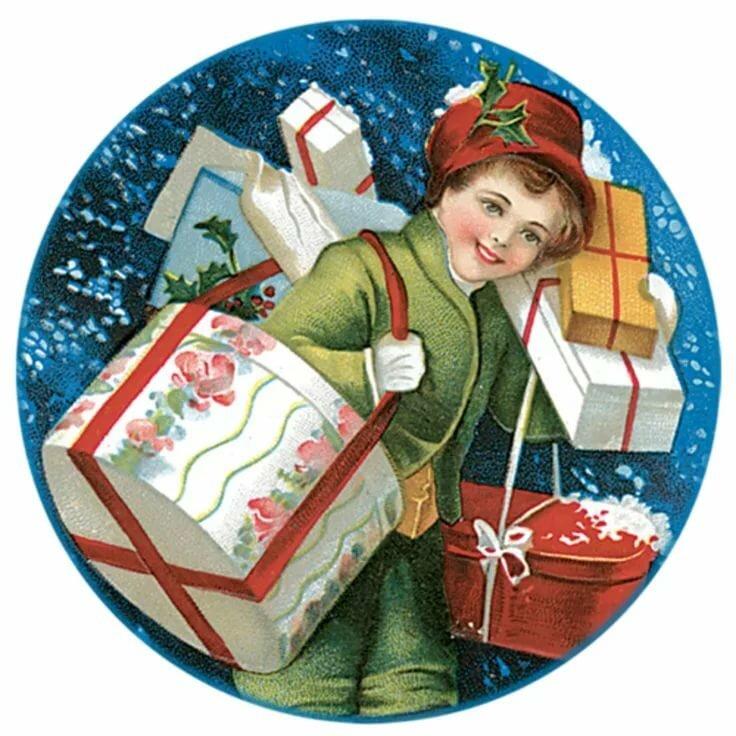 нгс новый год подарки детям открытки сочинил