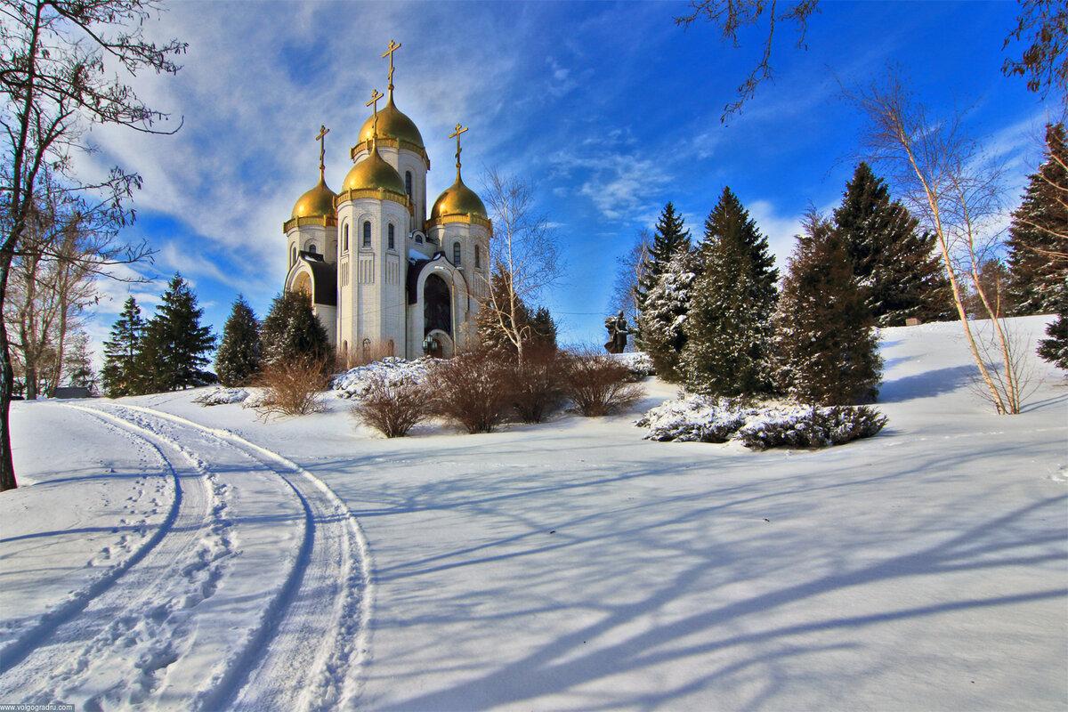 Обои на рабочий стол православные церкви и храмы зима