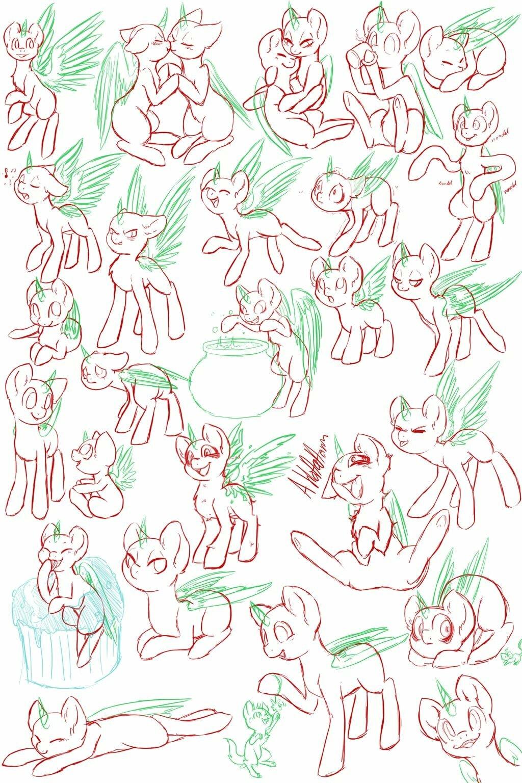 Картинки позы пони, картинки персонажей игр