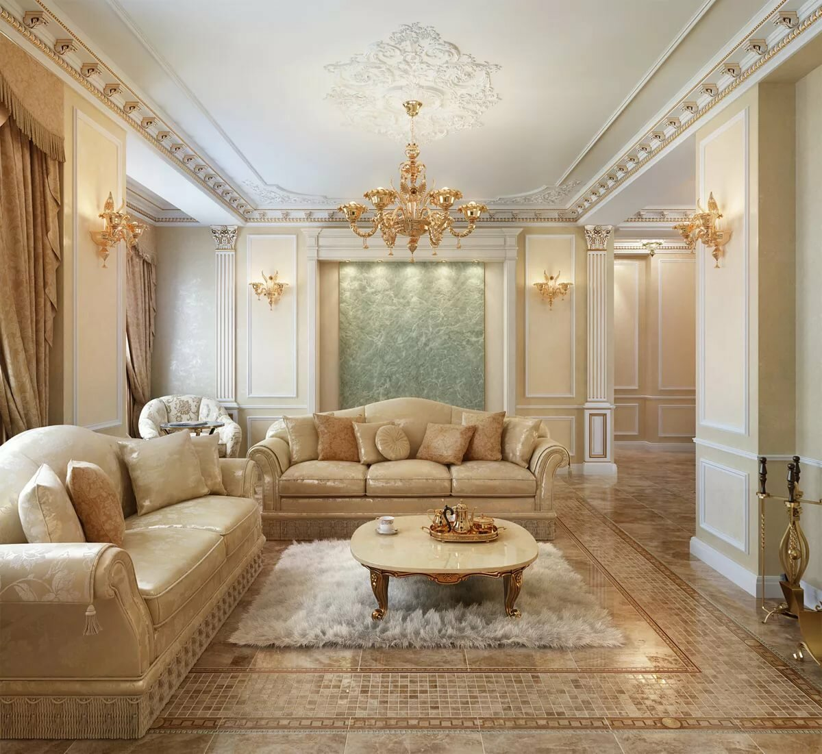 классический дизайн квартиры в картинка выступаешь