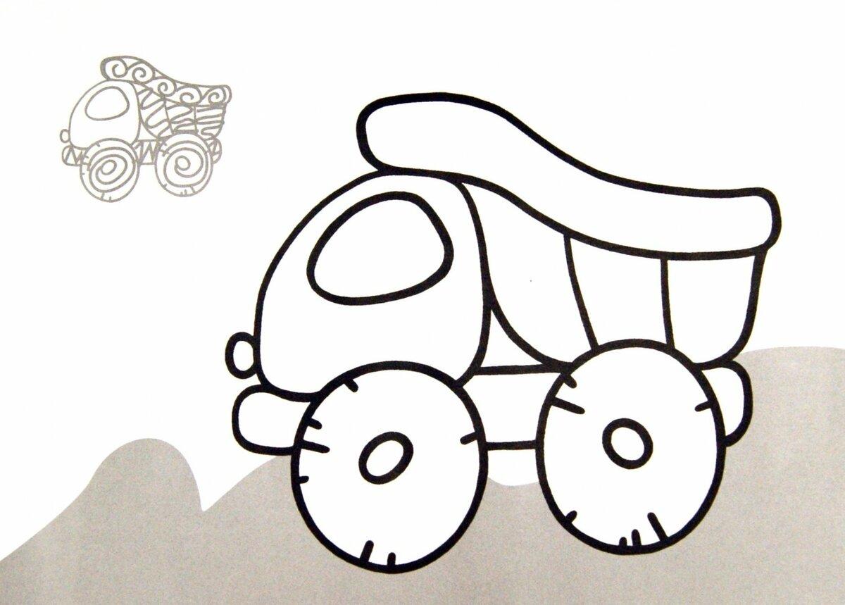 Картинки для малышей 4 года раскрашивать