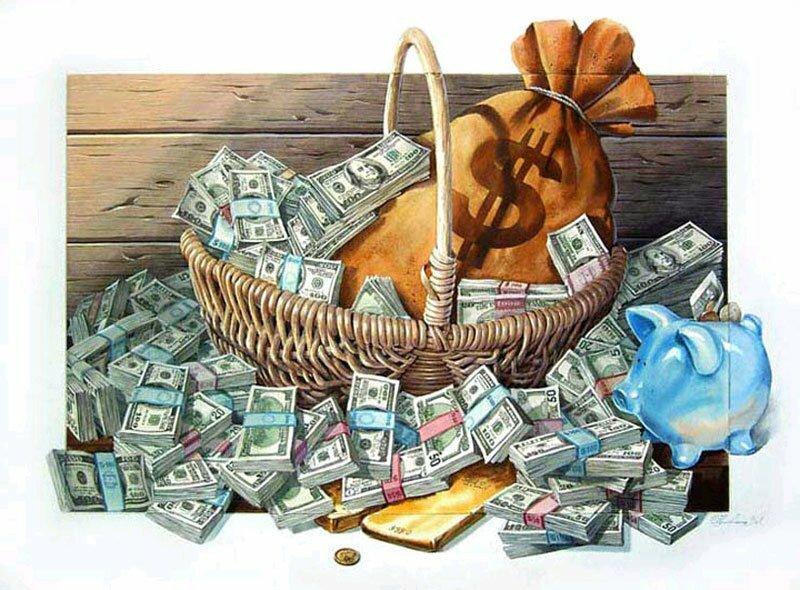 Картинка с днем рождения много денег, пусть все мечты
