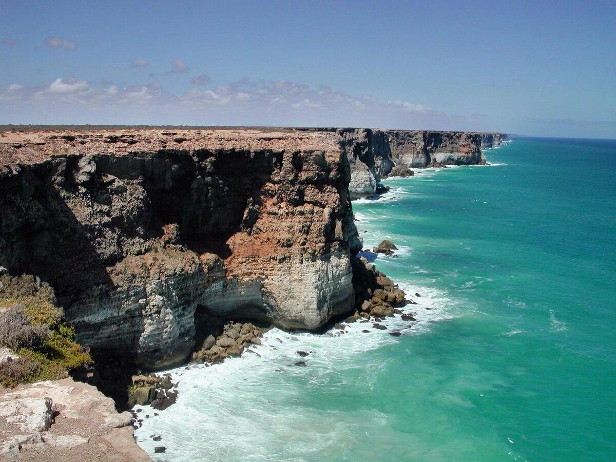 побережье океана край земли фото где это актер преобразился еще