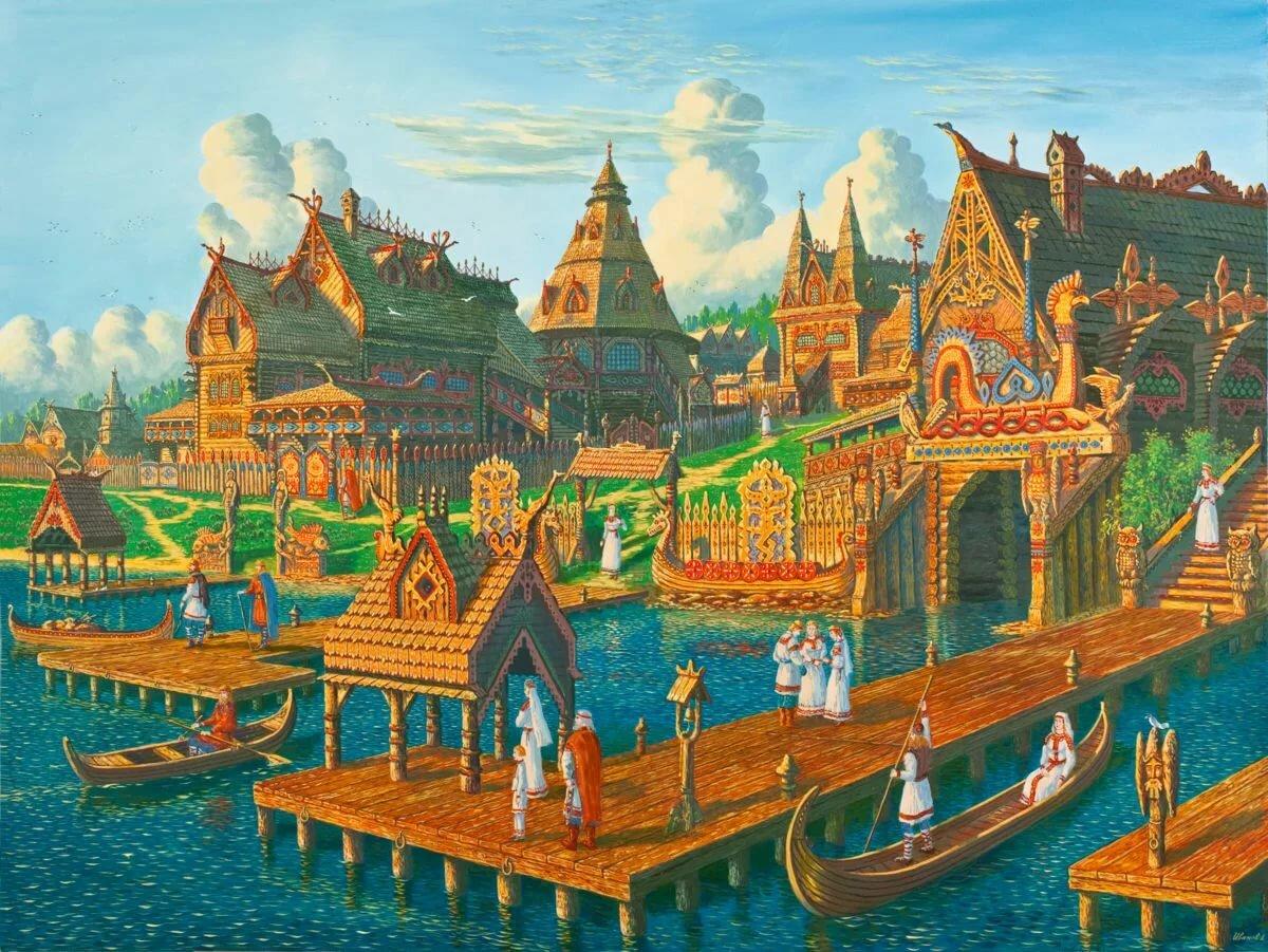 Древние города руси картинки