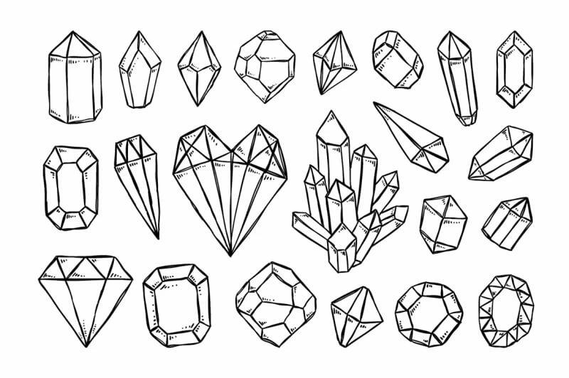 новые картинки кристаллов поэтапно мультимедиа содержится вместе