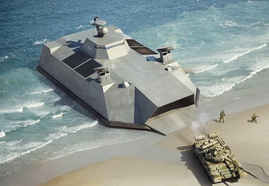 Картинки десантных кораблей будущего