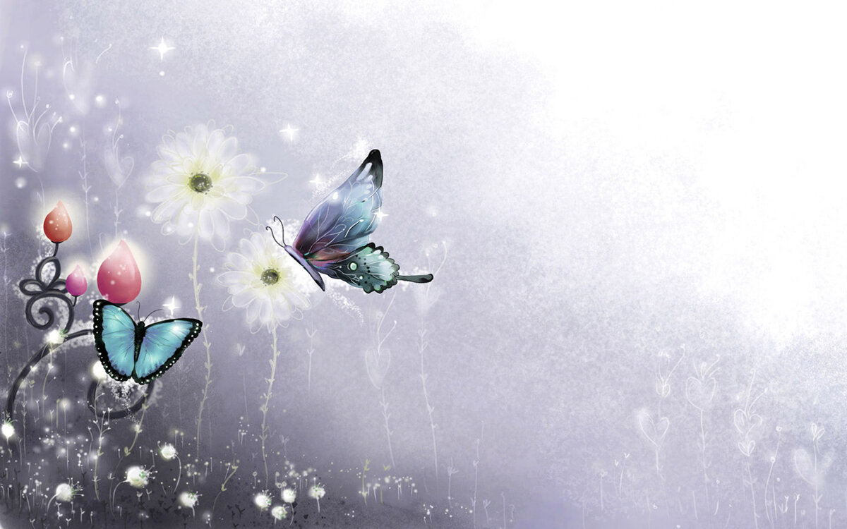 Доброго, фон бабочки для открытки