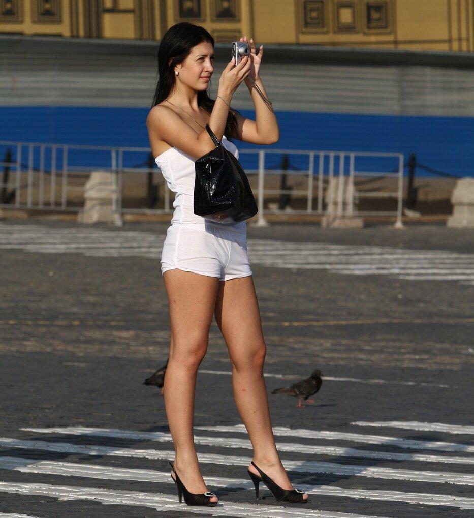 Снимают на улице русских девушек в г питере