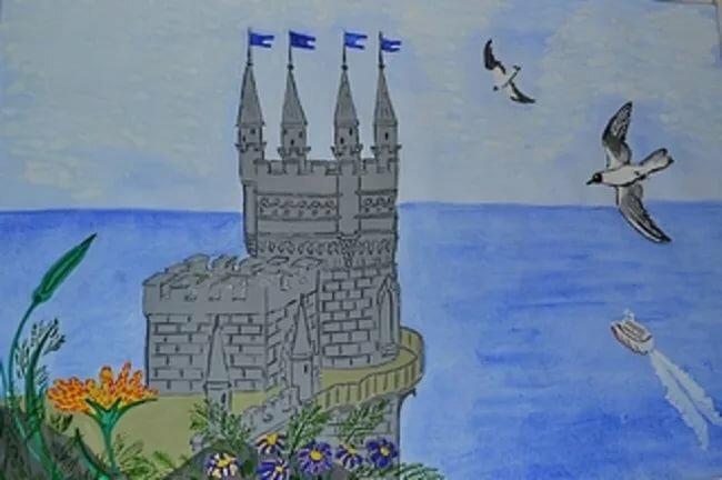 Мне нужен, крымская весна картинки для срисовки