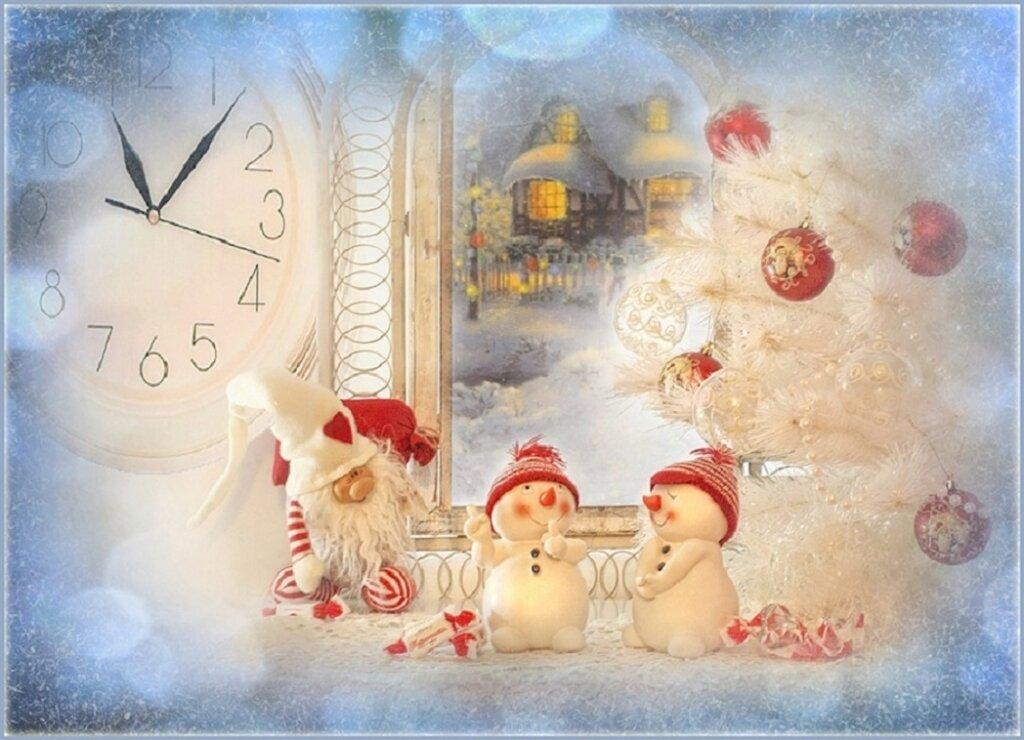 Открытки новый рождество, дню победы
