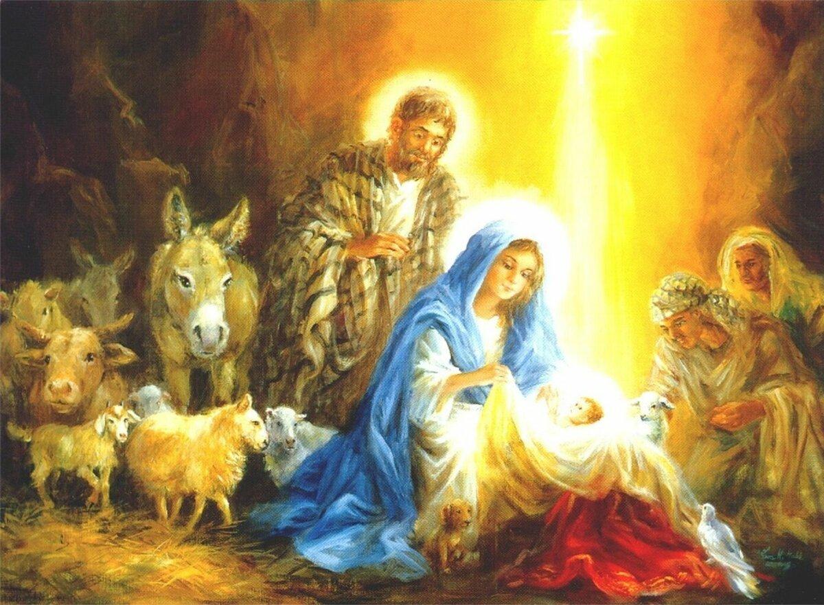 Рождество в картинках христианское, рабочий