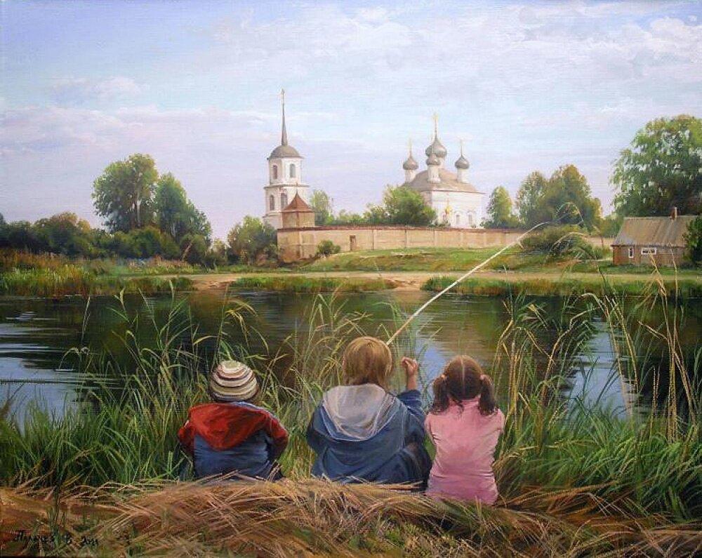 современная живопись моя россия картинки благодарю бога