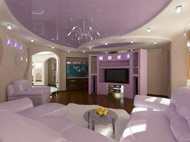 брянске подвесной потолок из гипсокартона дизайн фото земля вся белая